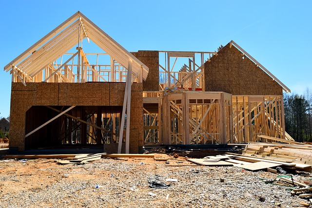 Maison structure bois