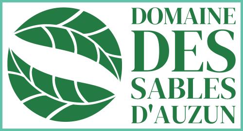 Logo du domaine des sables d'Auzun